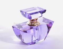 new design moon shape crystal wedding favor perfume bottles