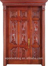 Luxury style interior doors pintu kayu