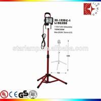 500w halogen flood light with tripod mount halogen stand work light tripod