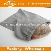 Hot Sale Custom Logo Printed Linen cotton custom drawstring handmade cloth grocery bags wholesale