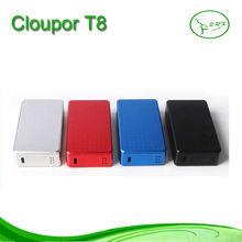 2014 cloupor T8 mod clone with high end design 150w mod t8 wonderful ecig mod t8
