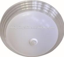30w modern ceiling lamp for home 20w led hotel ceiling light with PIR sensor modern 15w led bedroom ceilng light sensor