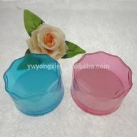 circle design plastic box colorful box of jewelry