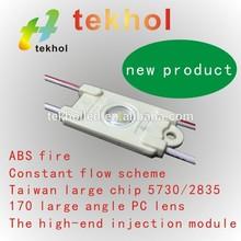 Factory price R/B/Y/W/G emitting color 170 degrees brilliant light effect high brightness 2835 led module