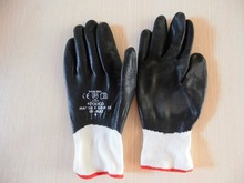GNK nitrile palm working glove and fingers dipped