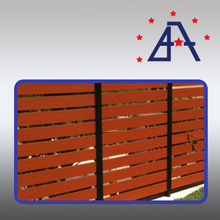 Australian best sell Imitation Timber Fence