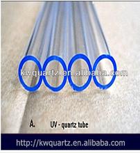 fused uv filter quartz glass tube from donghai kaiwang lianyungang jiangsu