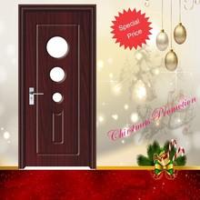 simple de madera interior puerta de la habitación de diseño
