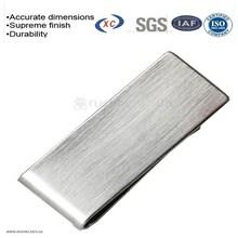 Sheet metal stainless steel clips metal mens wallet money clip