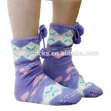 non slip love slipper sole socks for christmas