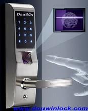 Security home door fingerprint lock