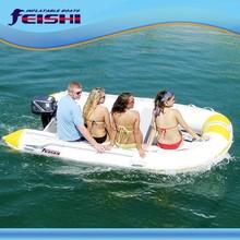 Fsd-460 nuovo modello in pvc barca a motore barca a vela