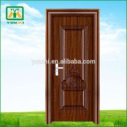 YM-8073 Economic New Coming Interior Decorative Metal Door