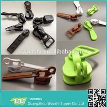 Wholesale Fancy Design customized Metal Zipper locked zip Slider head for Luggage