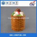 cogumelo botija de cerâmica para a promoção