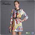 2014-2015 großhandel mode sommerkleid damen fancy kleid lady dress großhandel china
