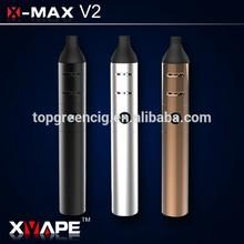 2014 New! Original Stock,Factory Best Price Good Quality Ecig X-max V2 advanced e cigarette