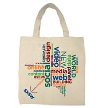 Cheap Reusable Natural Cotton Shopping Bag