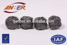 stainless steel scrubber/pot scourer/iron sponge scrubber