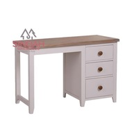 CA 521 solid birch single pedestal desk/dressing table/bedroom furniture