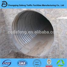 4000mm hot dip galvanized corrugated steel pipe