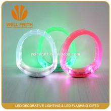 Customize Logo Vocal Concert Promotion Gift LED Flashing Bracelet