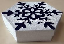snowflake paper box