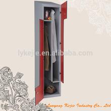 Professional moveable compact z shape locker unique steel z shape two door locker