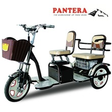 PT-EP 2014 Best-selling New Design Passenger Use Powerful 48v 50ah Electric Tricycle Used