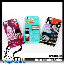 2014 fashion popular colorful sublimation diy phone case decoration for iphone5s