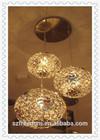 China consumer shenzhen cheap price hotel /living room /Restaurant/Kitchen aluminum round Chandelier lamp