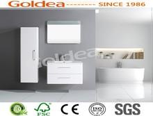 China Professional Waterproof Mirrored Cabinet and White Bathroom Vanity