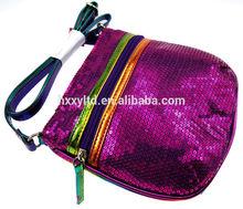 2014 hot sale leather shoulder bag ,ladies bag, cosmetic bag