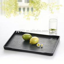 Restaurant and Hotel use Japanese sakura flower Design 100% Melamine serving tray