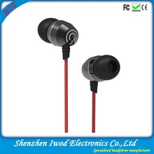 Cool mp3 player use custom earphone mini earbuds with deep bass for mp3,mp4, smart phone and tablet