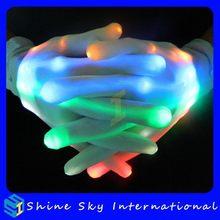 Economic Stylish Flashing Color Change Led Gloves Lights