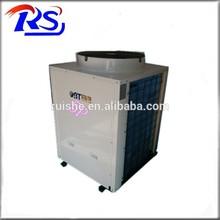 Air can heat pump