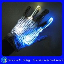 Contemporary Professional Gloves Fitted With Flashing Led