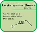 Cas n º 1826 - 67 - 1 Grignard reactivos - vinilo de magnesio bromuro de 1 M en THF
