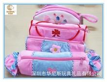 Newest design lovely plush pen bag/pencil bag