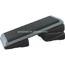 adjustable plastic fitness gym aerobic step