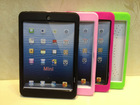 2015 ebay hot sell for Ipad mini case,PC+Silicone combo Heavy Duty Shockproof case for Ipad mini restina with stand