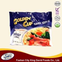King David Hot & Sour Shrimp Flavour 85G Bag Wholesale Instant Noodles