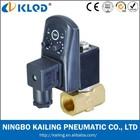 "1/2"" Automatic electronic timed air compressor condensate auto drain valve, KLPT"