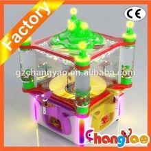 Christmas Tree Big Crane Machine In Toy Store