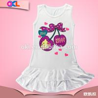 Hot sale china manufacturer oem supplier kid clothes kids clothing flower girl dress