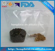 HD transparent LDPE/HDPE Adhesive sealing plastic bag