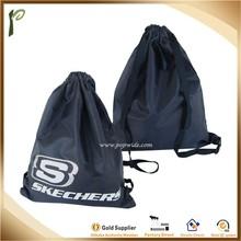 Popwide Polyester Drawstring Backpack Shopping Bag, organic backpack