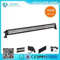 Factory directly wholesale 50 inch 300w offroad led light bar