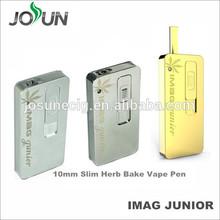 2015 hot selling JOSUN Imag Junior 10mm disposable d wax vaporizer pen